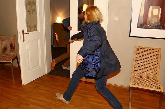 Lenku pomstila kolegyně Veronika Gajerová.
