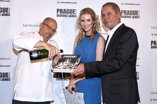 Pohlreich se stal kmotrem nového průvodce po pražských restauracích.