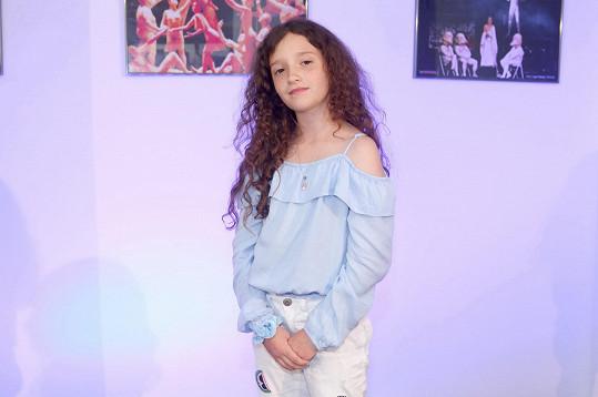 Terezii je teprve 11 let a už má za sebou spoustu filmů a seriálů.