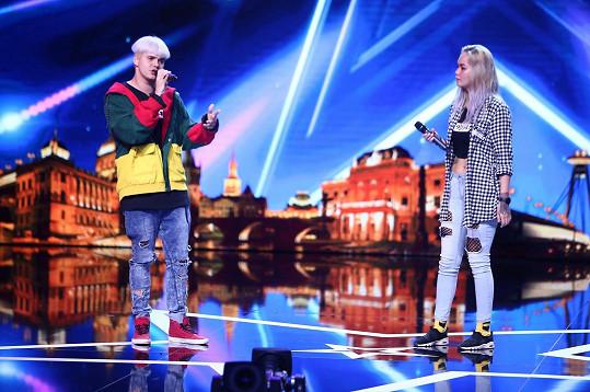 Sourozenci Nikola a Dušan zaujali porotu Talentu.