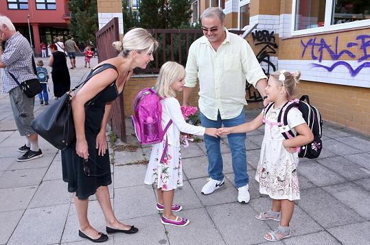 Maja se hned seznámila s dcerou Martina Zounara Claudinkou.
