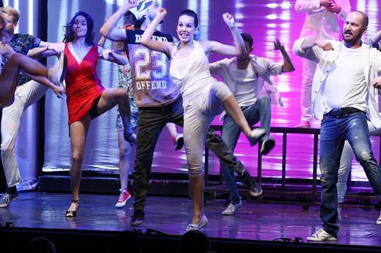 Michaela Tomešová se vrátila na jeviště Divadla Kalich.