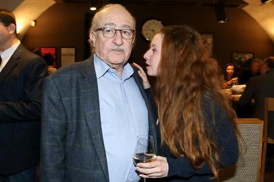 Juraj Herz s dcerou Annelií