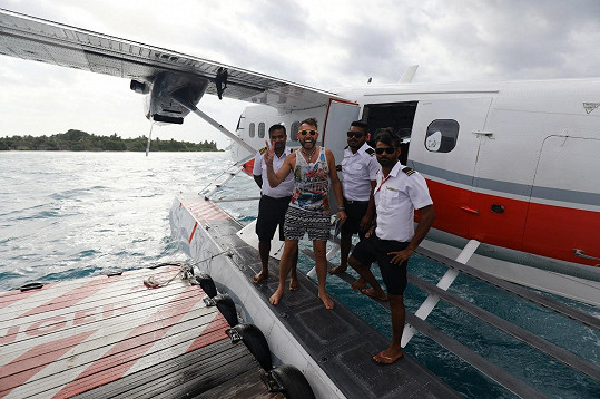 Maledivy ho okouzlily.