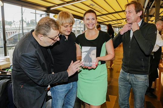 Šefrnová loni na křtu své knížky Holka drzá