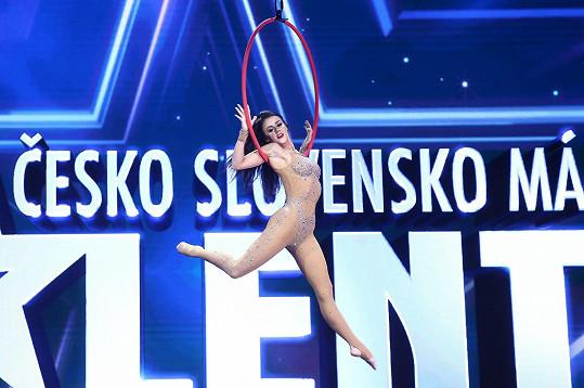 Alexandra ohromila porotu Talentu.