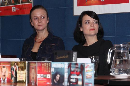 Špalková s Janou Strykovou