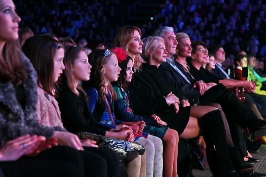 Na koncert dorazili i Miroslav Donutil s manželkou.