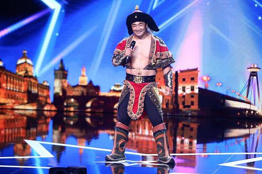 V Talentu se předvedl i silák Tulga.