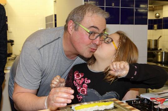 Martin Zounar na svou dceru nedá dopustit.