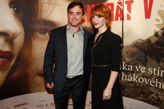 Vavřinec Hradilek a Vica Kerekes si premiéru nemohli nechat ujít.