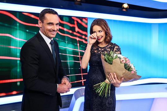 S Romanem se loučila ve zprávách na konci února.