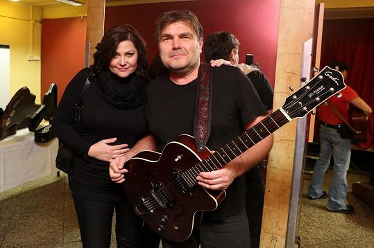 Stejně tak její kamarád a kolega Roman Horký z kapely Kamelot.