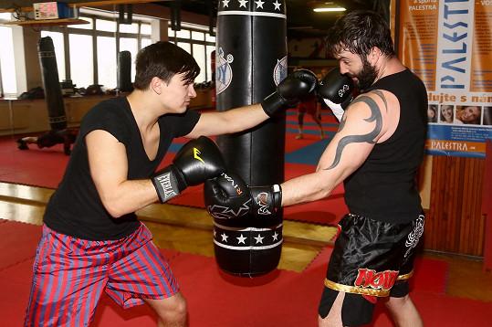 Noid thai box trénuje už čtyři roky.