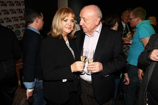 Felix Slováček a Marcela Laiferová na nedávné fotce