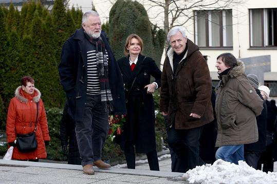 Zdeněk Dušek a manželé Heřmánkovi
