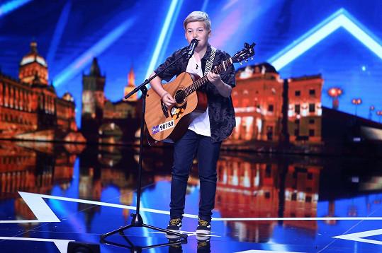 O vítězství bojoval s Margarétou jedenáctiletý zpěvák Samuel Rychtar, který ohromil vlastní tvorbou.