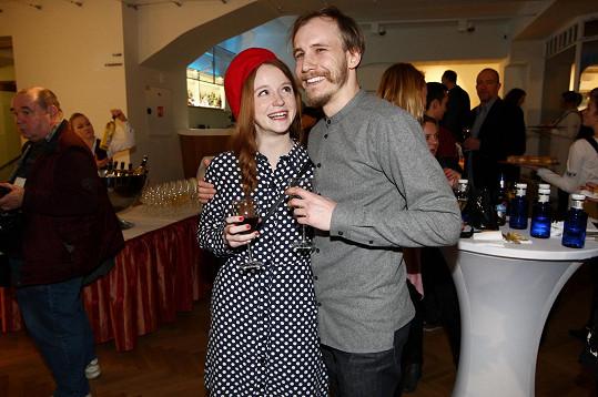 Marie Doležalová a Marek Zelinka si vyšli do kina na premiéru hororu Polednice.