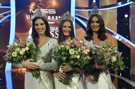 Vítězky Československé Miss, České Miss a Miss Universe Slovensko