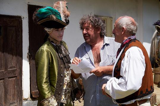 S režisérem a Oldřichem Navrátilem