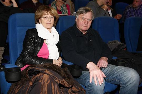 Společně vyrazili také na premiéru filmu Rudý kapitán.