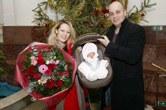 Markéta Martiníková se stala maminkou dcerky Luisy.