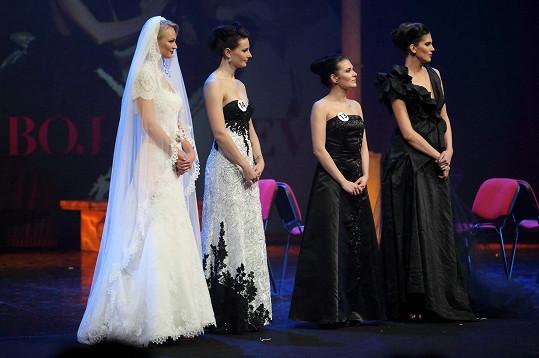 Modelky Aneta Vignerová a Tereza Fajksová byly patronkami soutěže.