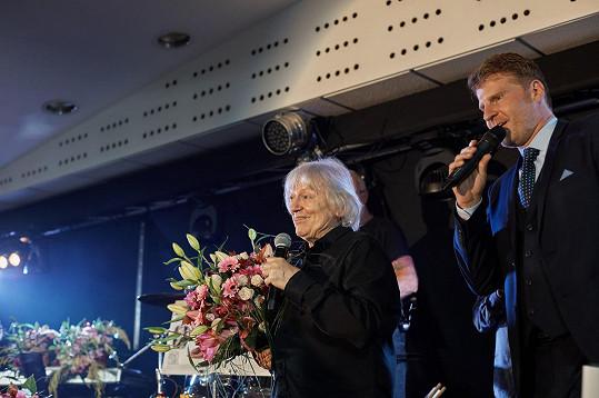 Koncert moderoval herec Petr Batěk.