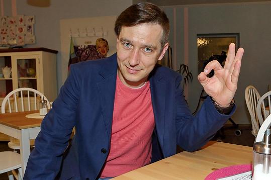 Jan Zadražil se popere s Prachařem.