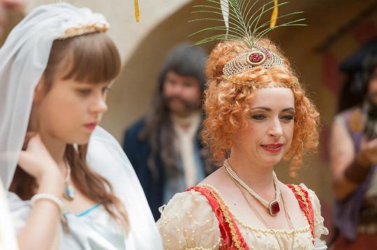 Tatiana hraje královnu v nové pohádce Bylo nebylo.