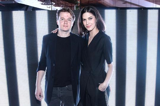 Anetu přišel podpořit její partner Petr Kolečko.