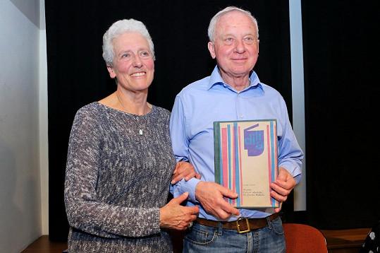 Vladimír Pucholt s manželkou Rosemary