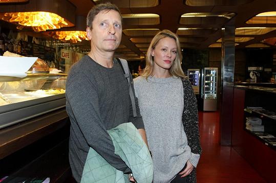 David Prachař s manželkou Lindou Rybovou