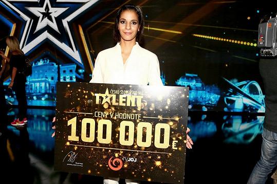 Gyongyi Bodišová je vítězkou páté řady Talentu.