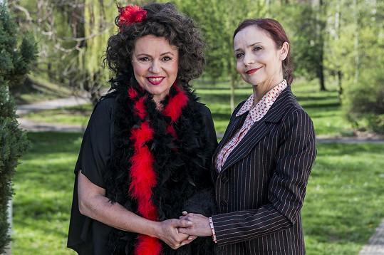 Mirka s představitelkou hlavní role Jitkou Sedláčkovou