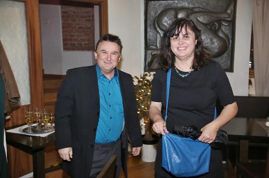 Jaroslav Sypal s manželkou Michaelou, která je sestrou Adrieny Sobotové.