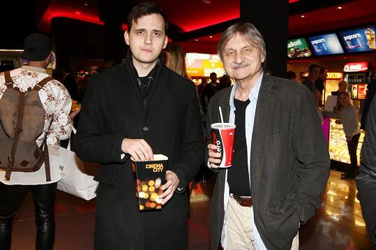 Pavel Soukup vzal syna na premiéru akčního trháku.