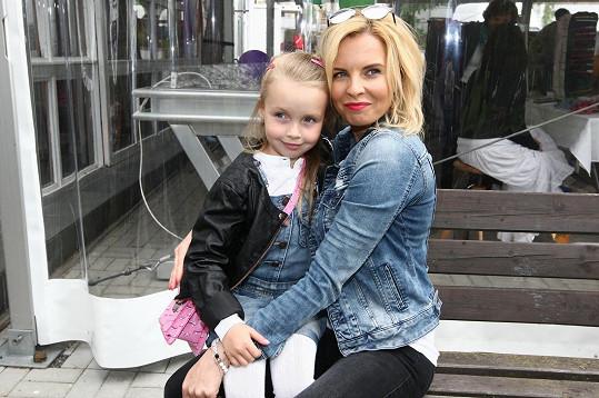 Kateřina s dcerou Claudií