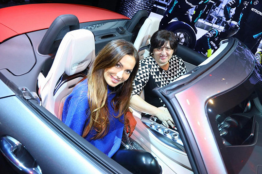 Eliška a Božena Bučkovy si užily dámskou jízdu.