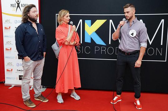 Ivana je s Felixem Slováčkem mladším jednou z patronek soutěže.