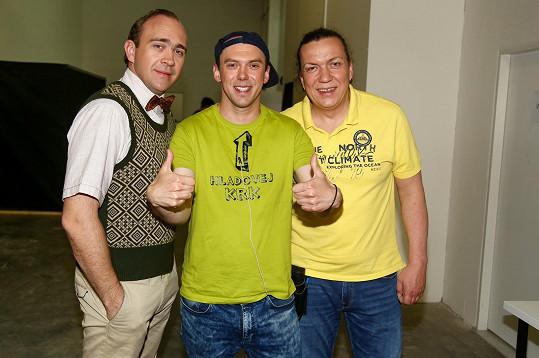S Jiřím Hánou a Richardem Genzerem