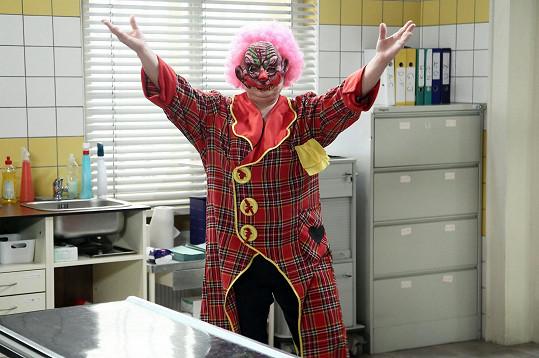 Pavla Tomicová jako klaun