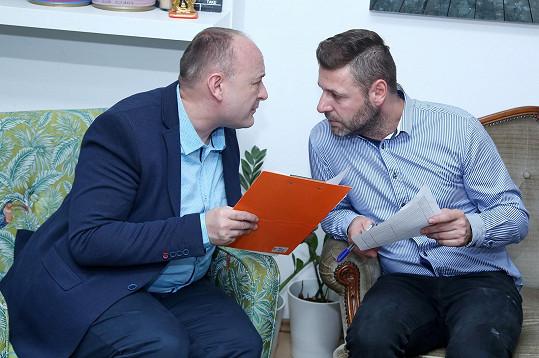 S dlouhodobým spolupracovníkem Michalem Doležalem, který vede castingovou agenturu.