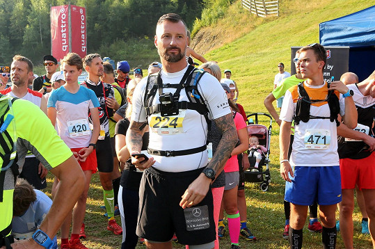 Petr Vágner se rozhodl pro běh na 50 kilometrů.