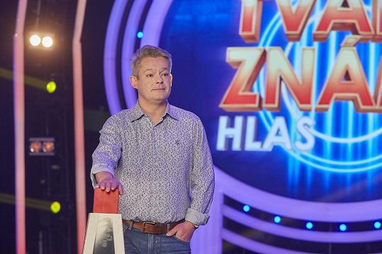 Aleš Háma bude nový moderátor pořadu.