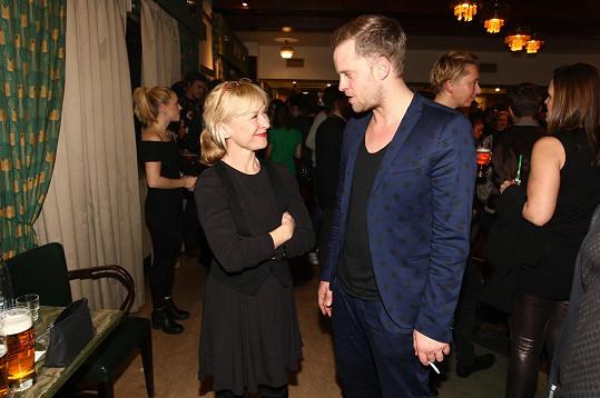 Dana Batulková hraje v seriálu maminku synovi Jakubovi.