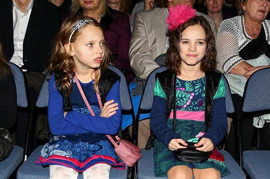 Koncert si nenechaly ujít ani Gottovy roztomilé dcerky.