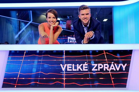 Lašková poslední roky také uvádí zprávy na Primě.