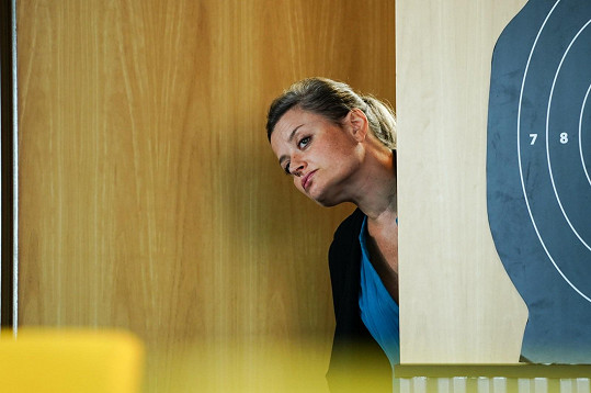 Erika Stárková si prý natáčení užila.
