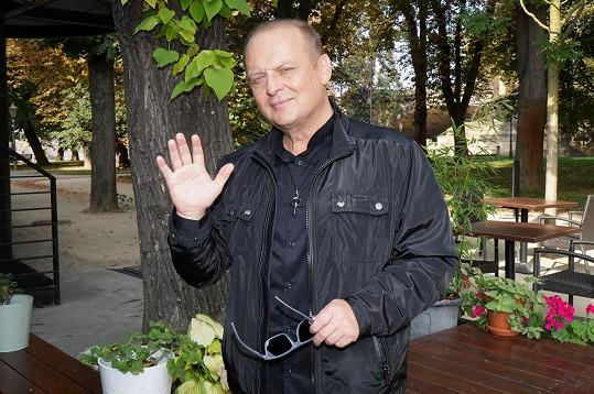 Ladislav Křížek se objevil po delší době ve společnosti.